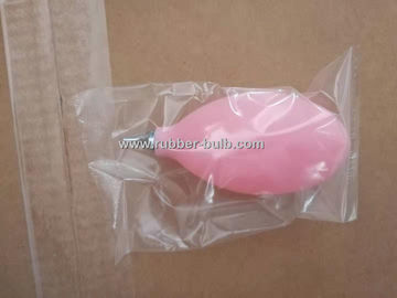 Soft Rubber or PVC Medical Hand Pump , Good Suctoin Inflatable Bulb High Elasticity