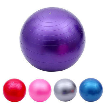 100g Pvc Exercise 45 Cm Fitness Ball For Yoga Health Club